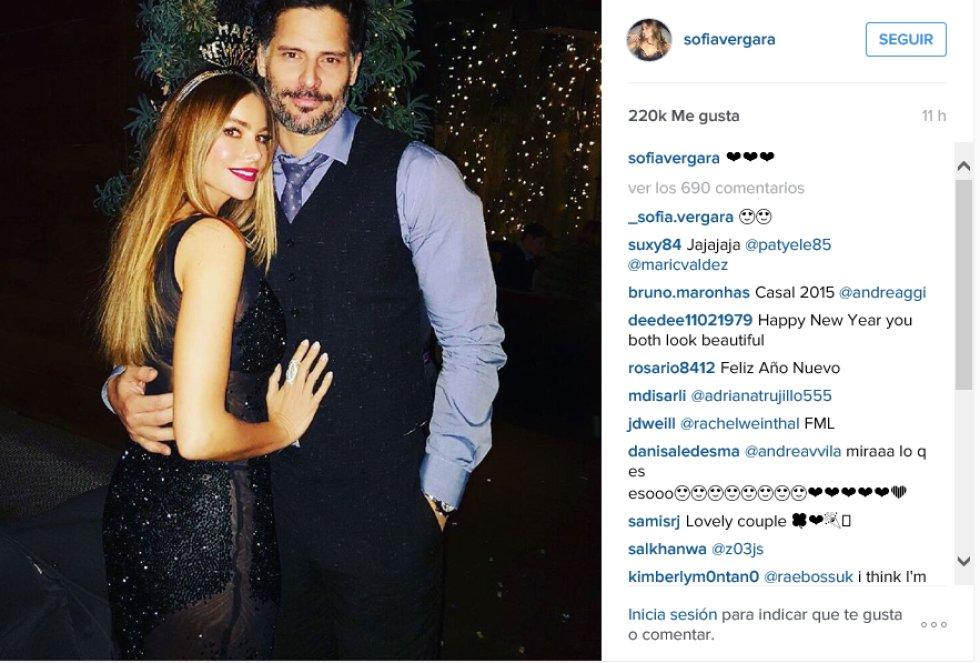 Famosos reciben el año nuevo 2016 en redes sociales: Los famosos vivieron en las redes sociales la llegada del 2016