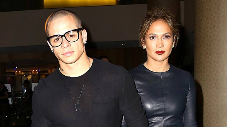 Jennifer Lopez y Casper Smart.