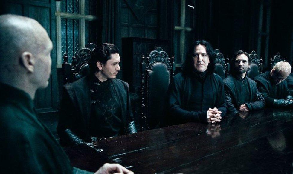[Fotos] Alan Rickman, de villano a héroe en Harry Potter