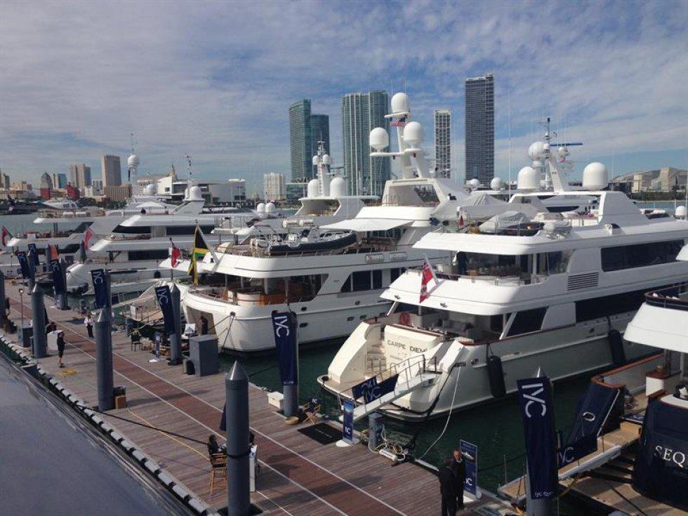 Los nuevos yates boutique y de súper lujo con diseños de joya inalcanzable navegan hoy por su destino natural, Miami Beach, que acoge hasta el próximo lunes una de las ferias estrella de la náutica más avanzada y la última tecnología de Estados Unidos.