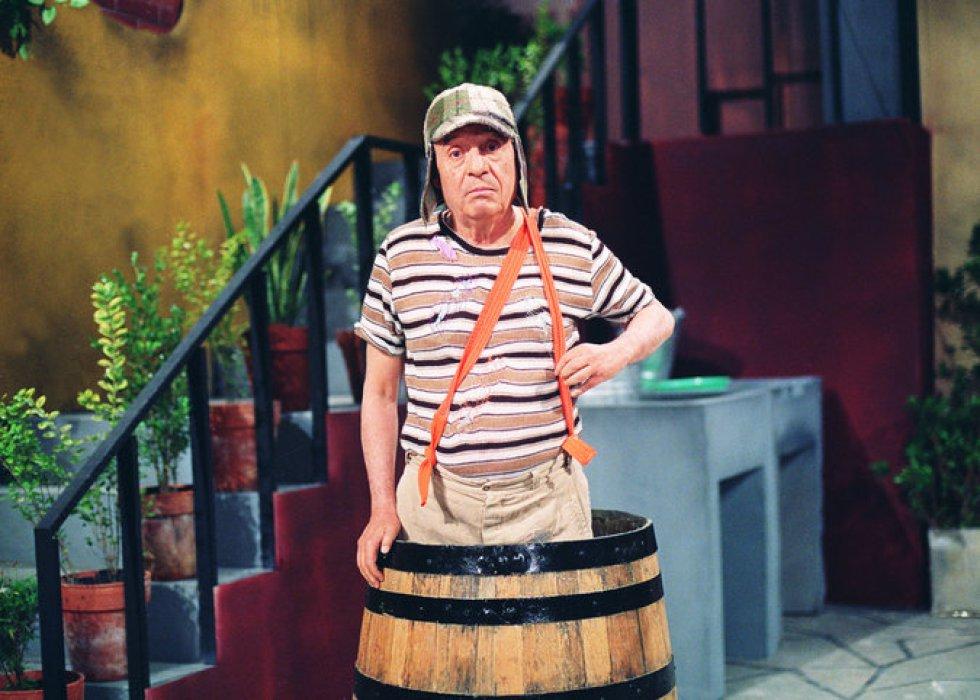 Roberto Gómez interpretando al Chavo del 8