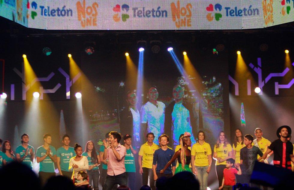 La farándula nacional se dio cita para apoyar una nueva versión de Teletón.