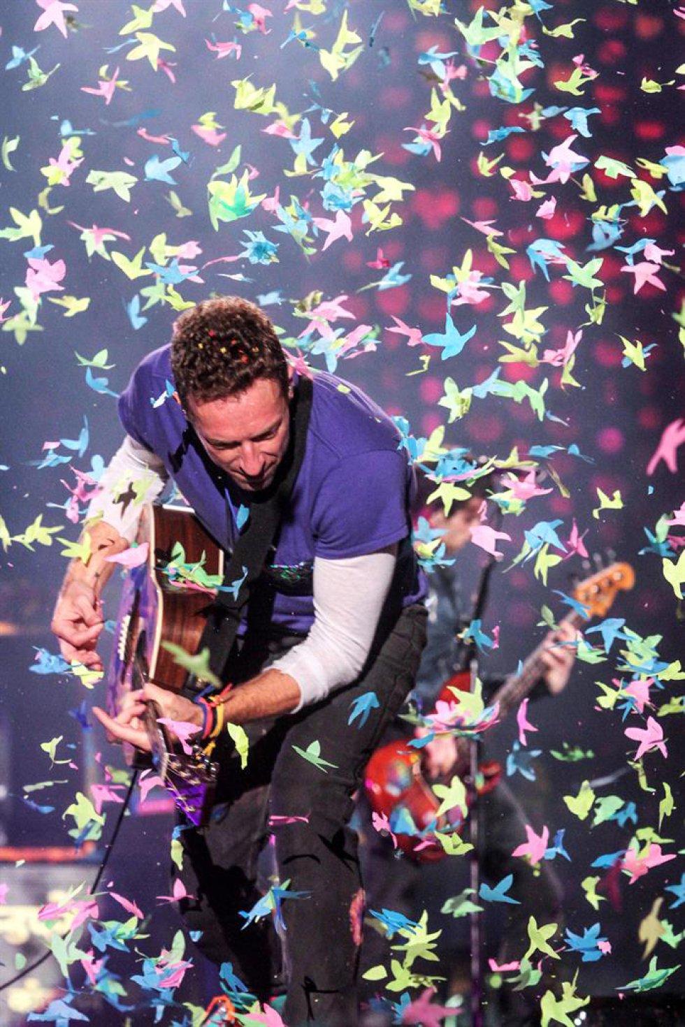 Las 'xylobands', brazaletes lumínicos controlados de manera remota que marcan el ritmo en algunas de la canciones más bailables de Coldplay, aportan de manera novedosa al show. La banda se presentará este miércoles 13 de abril a las 8:30 de la noche en el Estadio El Campín. Estarán acompañados por la santandereana Elsa y Elmar y la también británica Lianne La Havas.