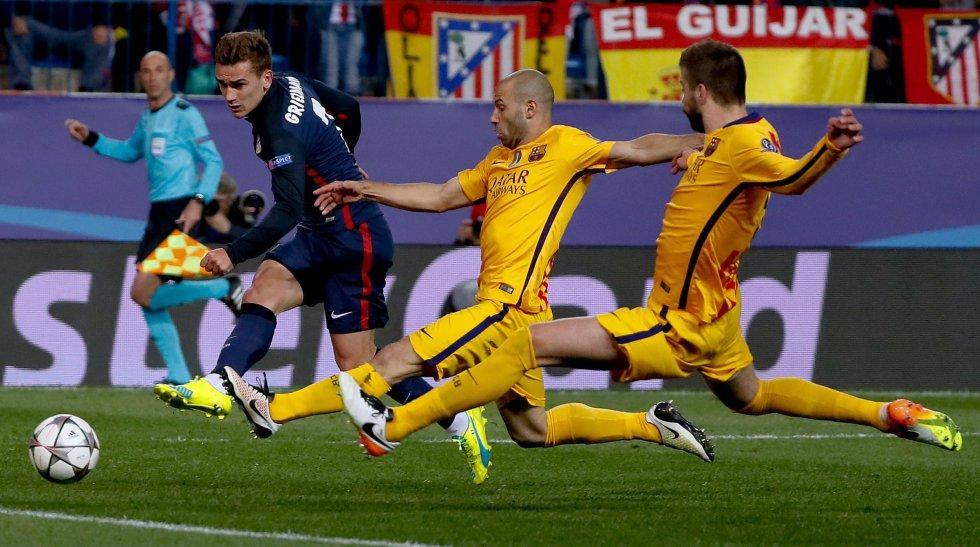En imágenes: La eliminación del Barcelona a manos del Atlético