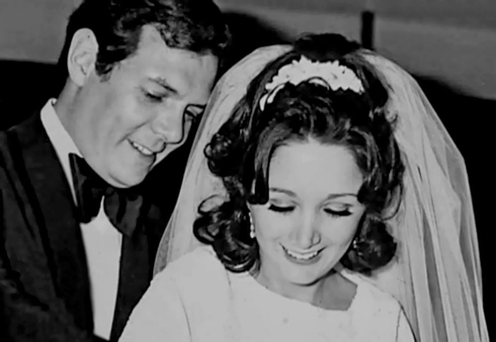 La boda de María Antonieta de las Nieves. 9 de julio de 1971.