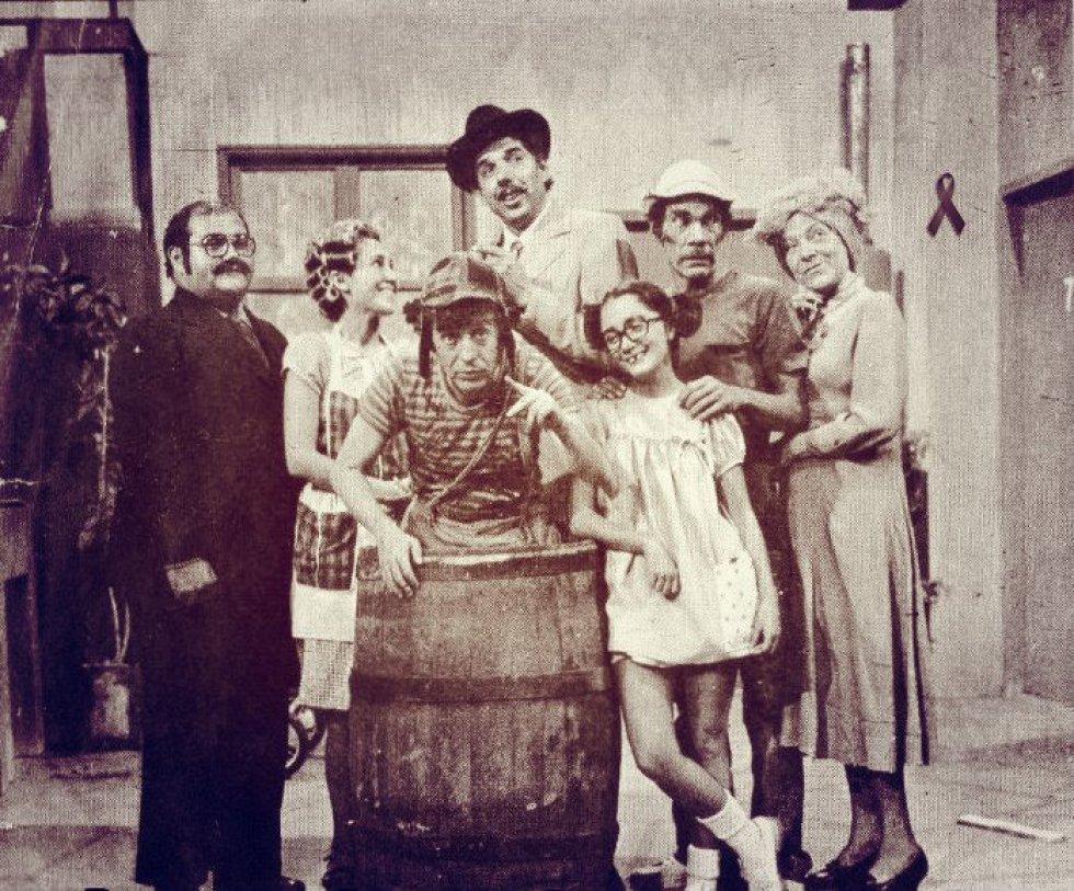 """Parte del elenco de la recordada serie """"El Chavo del 8"""", personaje que interpretó Roberto Gómez Bolaños y uno de los más significativos de la época."""