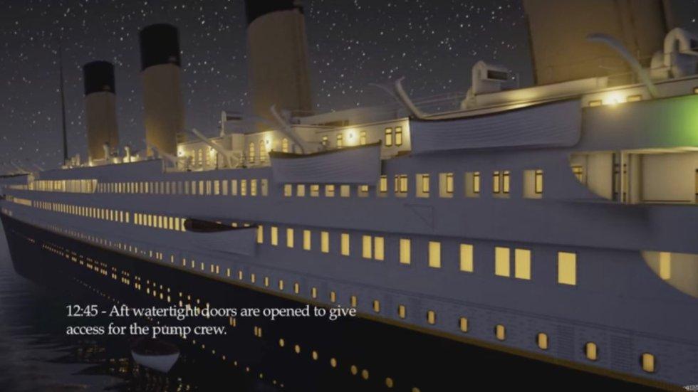 Los desarrolladores tambien lanzaron el juego Titanic Honor And Glory, donde se puede explorar y conocer más detalles del barco
