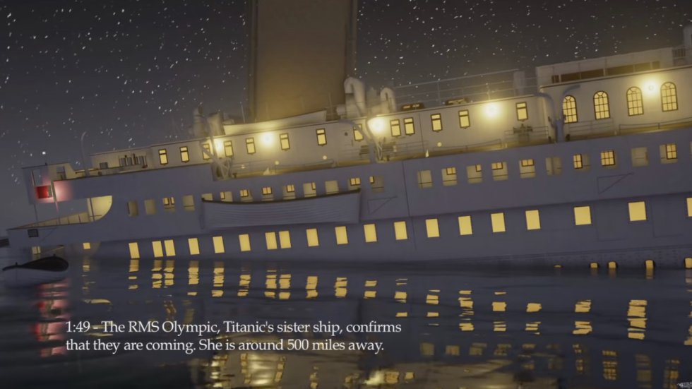 Los desarrolladores del video también desarrollaron un videojuego en el que se puede vivir los momentos del hundimiento del barco.