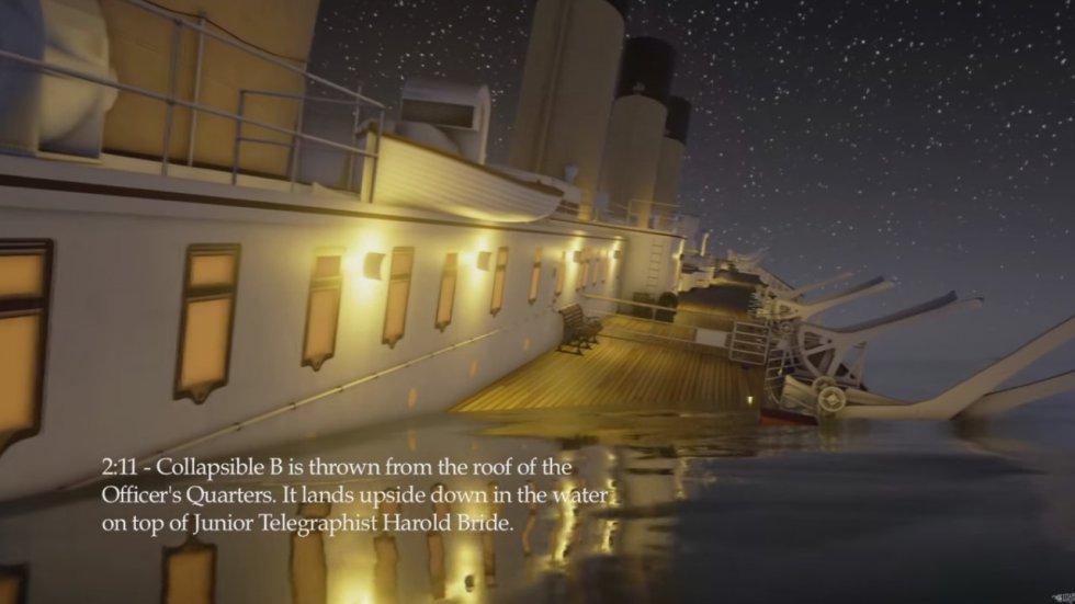 El video en tiempo real presenta los momentos exactos en que la se desarrollaron los intentos de salvamento