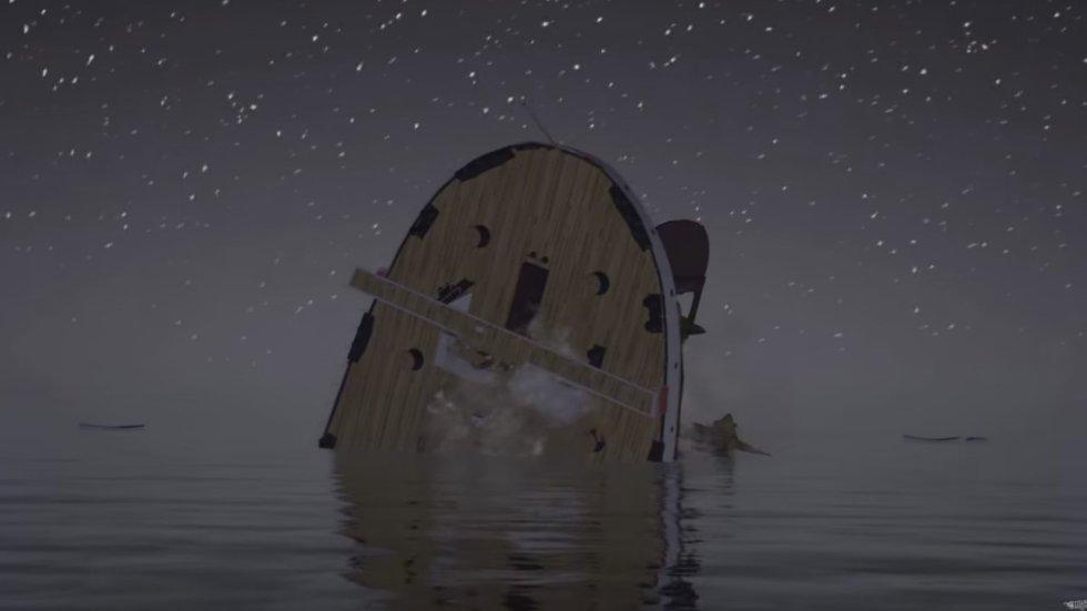 El videojugo desarrollado por los creadores del video también permite conocer otros datos sobre la tripulación y la embarcación