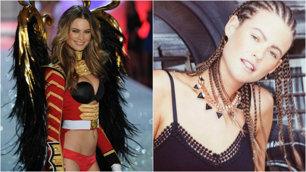 Behati Prinsloo, la reconocida modelo namibia ha sido parte de los ángeles de Victoria's Secret desde 2009.
