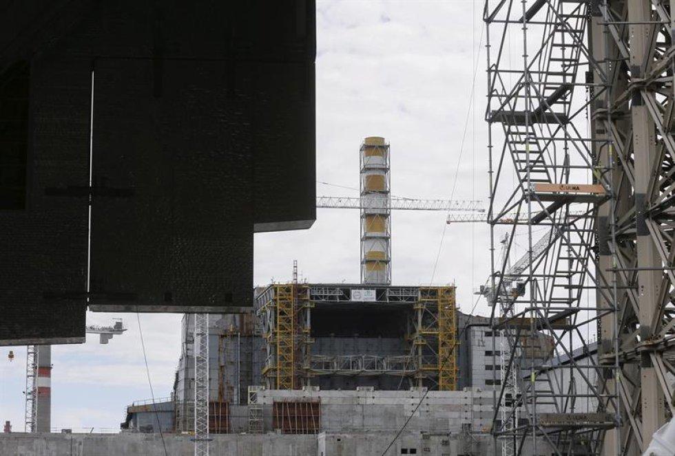 Chernobíl, uno de los más graves accidentes nucleares de la história.