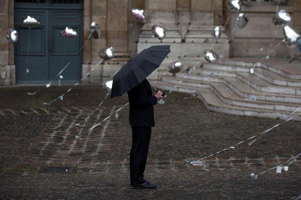 Francia también adelanta actos en memoria de las víctimas