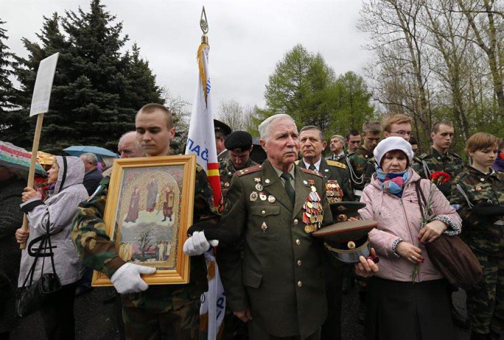 Bielorussia también se unió a la conmemoración de la tragedia.