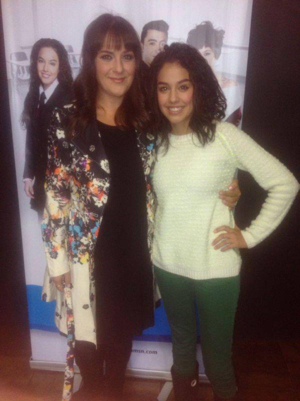 En el 2013 interpretó a Mariana Cadavid en 'Mamá También', por lo que fue nominada a los Premios TVyNovelas como Mejor actriz protagónica de serie.