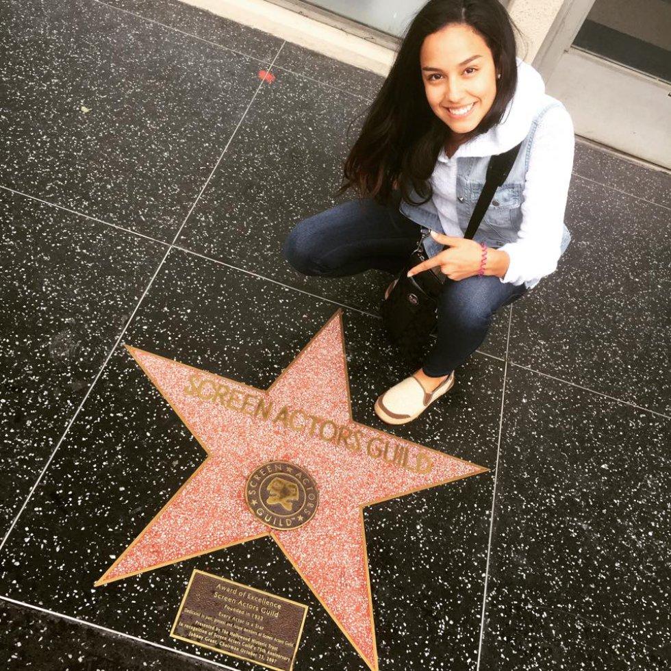 Ana María Estupiñán tiene 24 años y desde los 12 incursionó en el mundo de la actuación.
