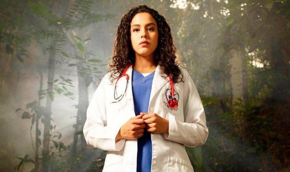Ahora llega a las noches colombianas con su papel de Belky en la nueva serie 'La niña'.