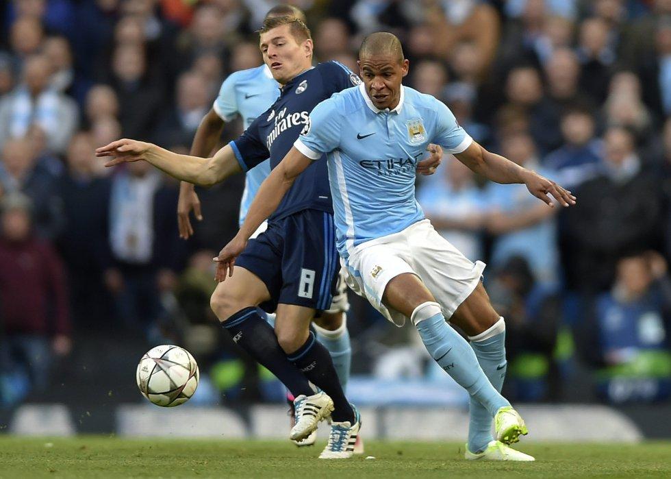 En imágenes: El 0-0 entre Manchester City y Real Madrid por Champions League