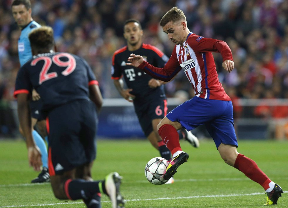 En imágenes: El triunfo del Atlético sobre el Bayern en la semifinal de Champions