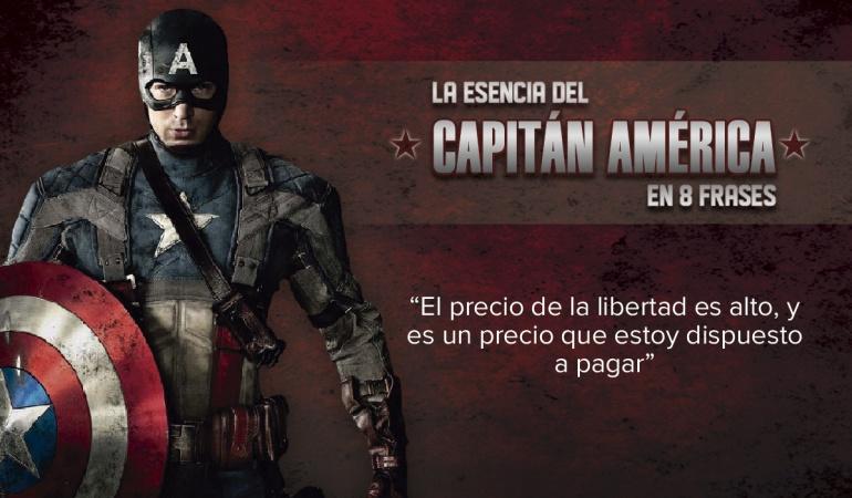 Captain America Civil War Frases Del Capitán América