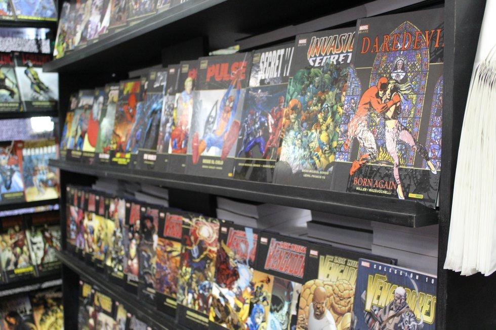 Allí también se encuentran las aventuras de Los 4 Fantásticos y Los Vengadores.