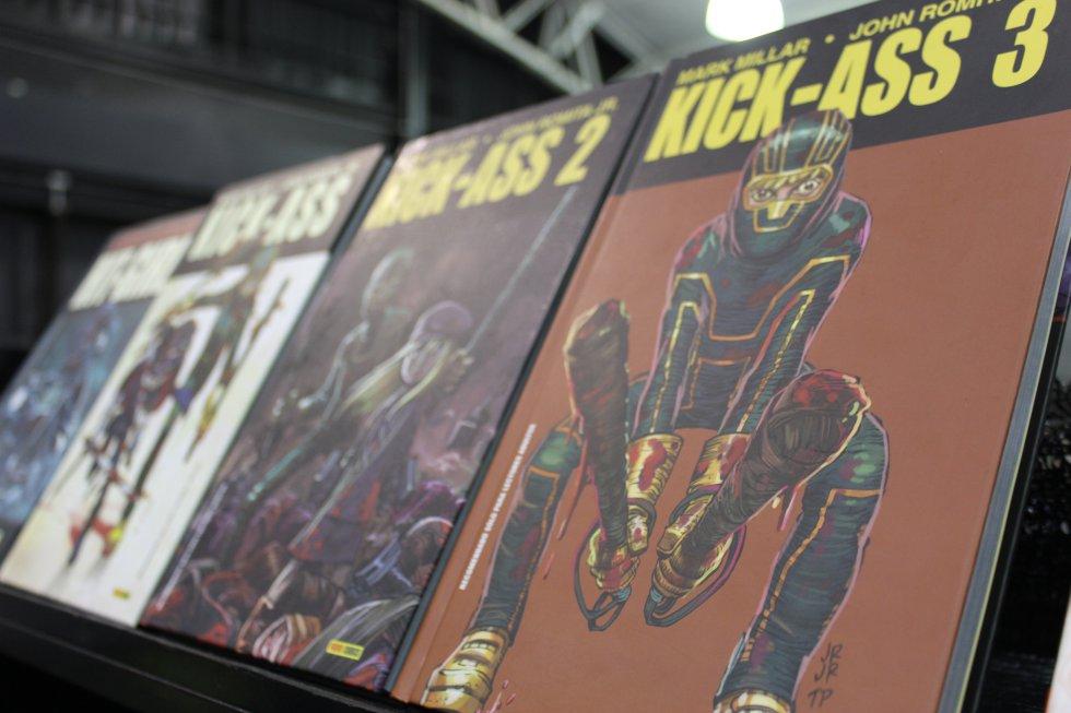 kick-ass, los cómics que basaron la película de este superhéroe, Publicado por Icon cómics en 2008.
