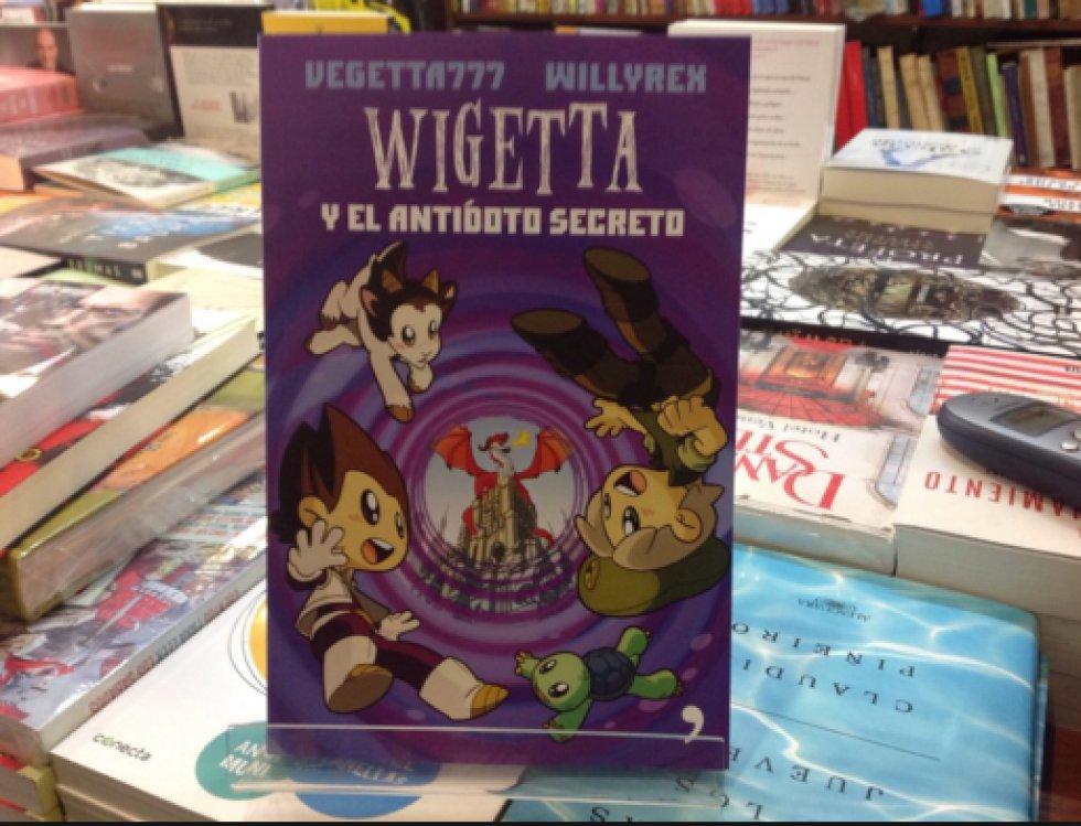 2. En el segundo lugar de los libros más vendidos está 'Wigetta y el antídoto secreto', autoría que se atribuye a Vegetta777/Willyrex, publicado por la Editorial Temashoy. El libro narra la lucha que enfrentan diversos reinos fantásticos.