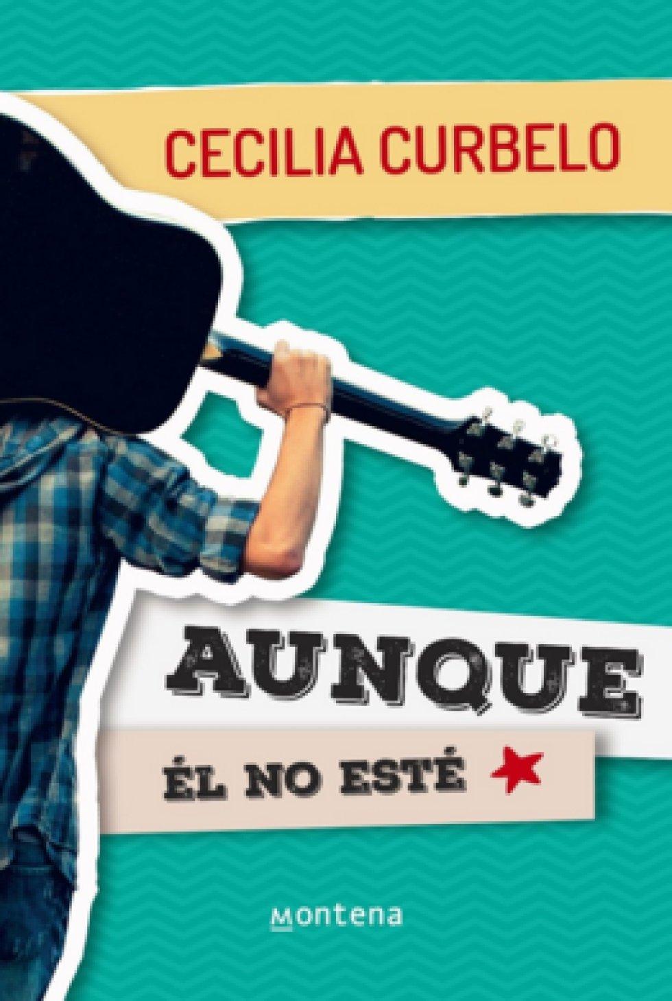 6. 'Aunque él no esté' de Cecilia Curbelo, publicado por la Editorial uruguaya Montena. El libro se trata sobre un joven que intenta huir de su casa luego del fallecimiento de su padre.