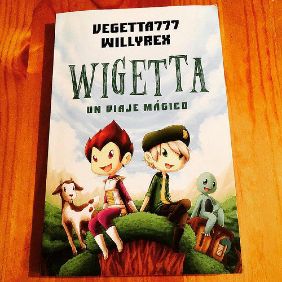8. 'Wigetta', edición anterior al libro que está en el segundo lugar de esta lista, autoría de Wigetta777 y Wilyrex y Editorial Planeta de Libros. Es una historia ilustrada e interactiva que se inspira en el mundo de los videojuegos y en el universo de los célebres Willyrex y Vegetta777.