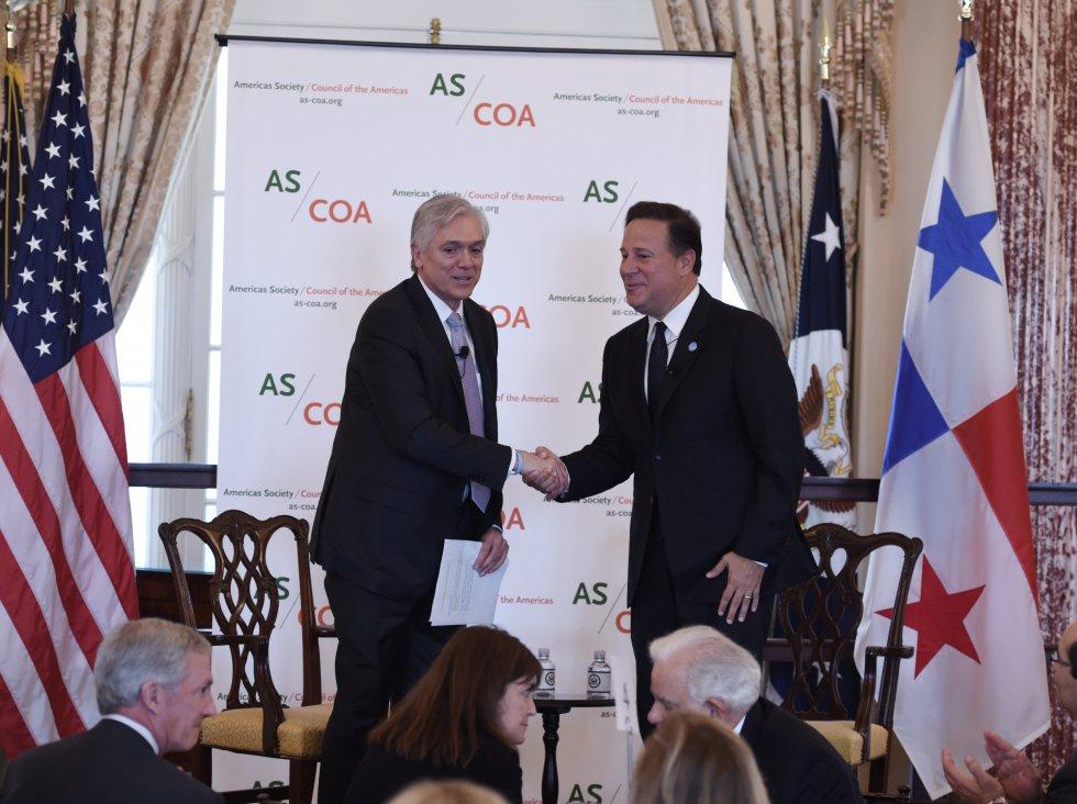 """Varela afirma que """"éxito de Panamá no depende de la llegada de dinero irregular""""."""