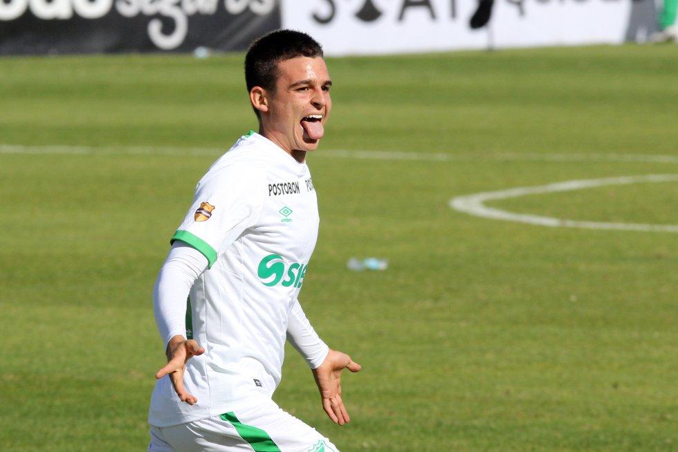 Nicolás Benedetti, caleño de 19 años, mediocampista del Deportivo Cali, es uno de los mediocampistas preseleccionados para la Copa América.
