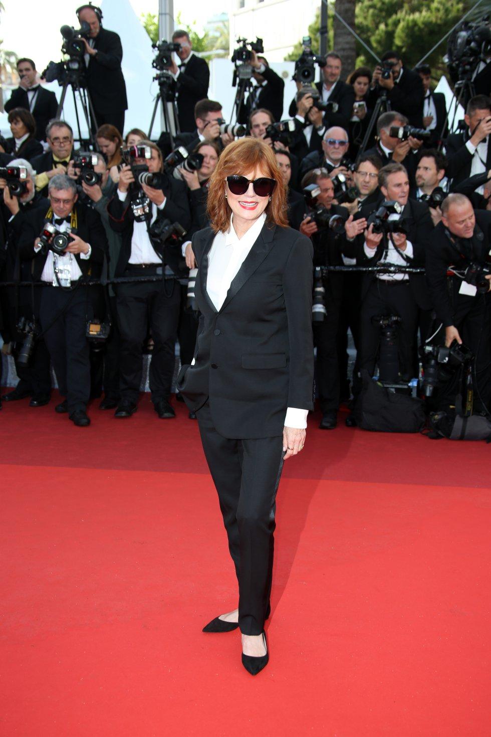 Susan Sarandones, actriz y productora estadounidense de cine y televisión. Ganadora del Óscar, Premio del Sindicato de Actores y BAFTA a la mejor actriz.