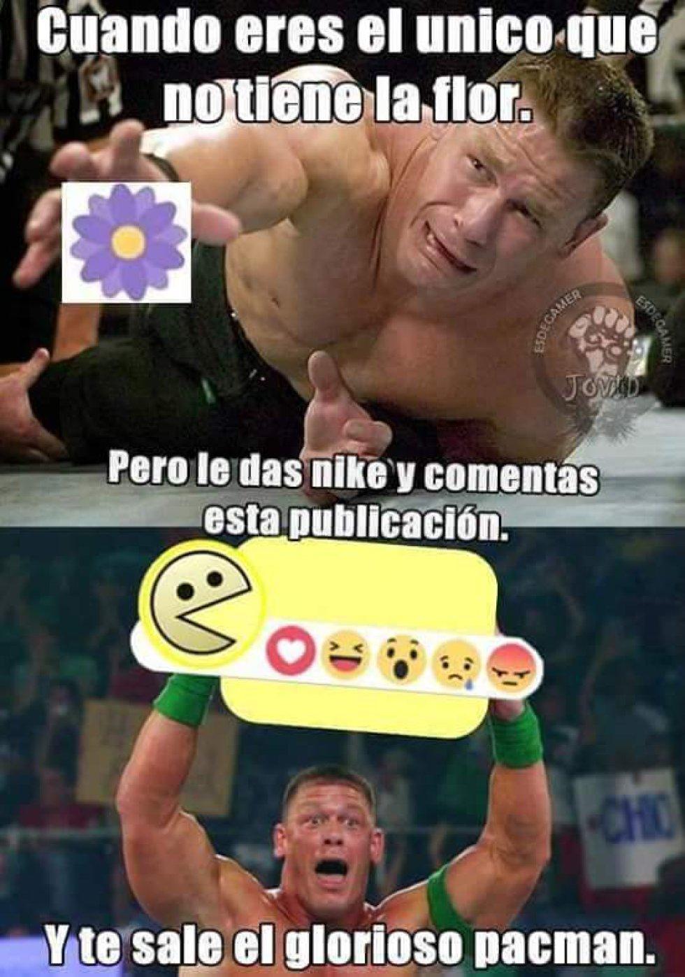 """Los """"memes"""" del luchador de la WWE, John Cena, son los más famosos."""