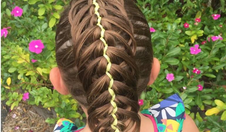 Trenzas Para Niñas Los Mejores Peinados Con Trenzas Para
