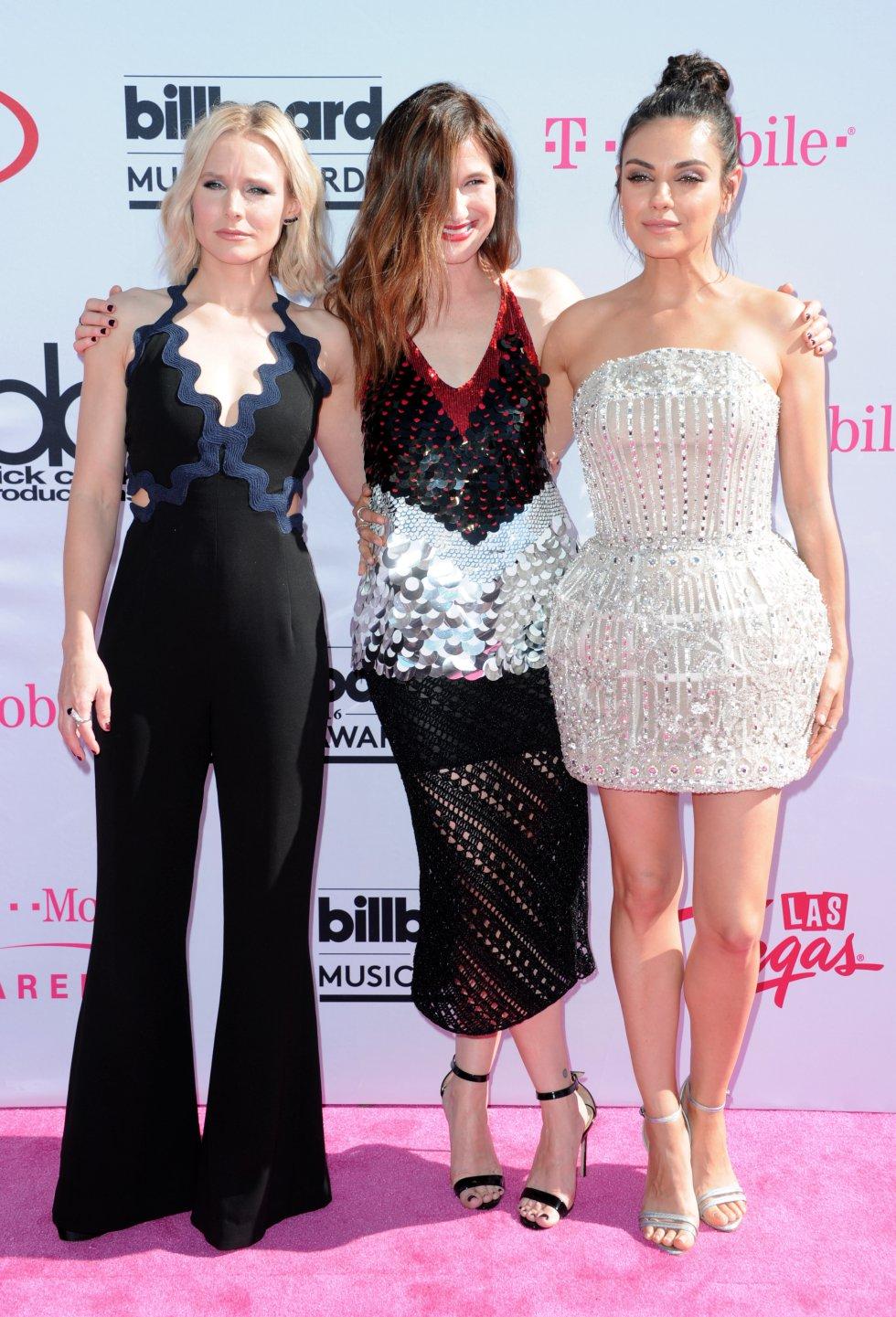 Kristen Bell, Kathryn Hahn y Mila Kunis.