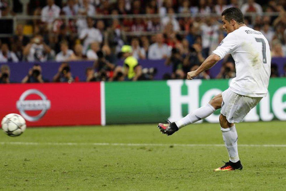 Real Madrid se coronó por undécima vez con la definición de Cristiano Ronaldo.