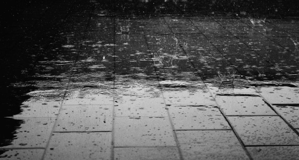 Ombrofobia: miedo a la lluvia.