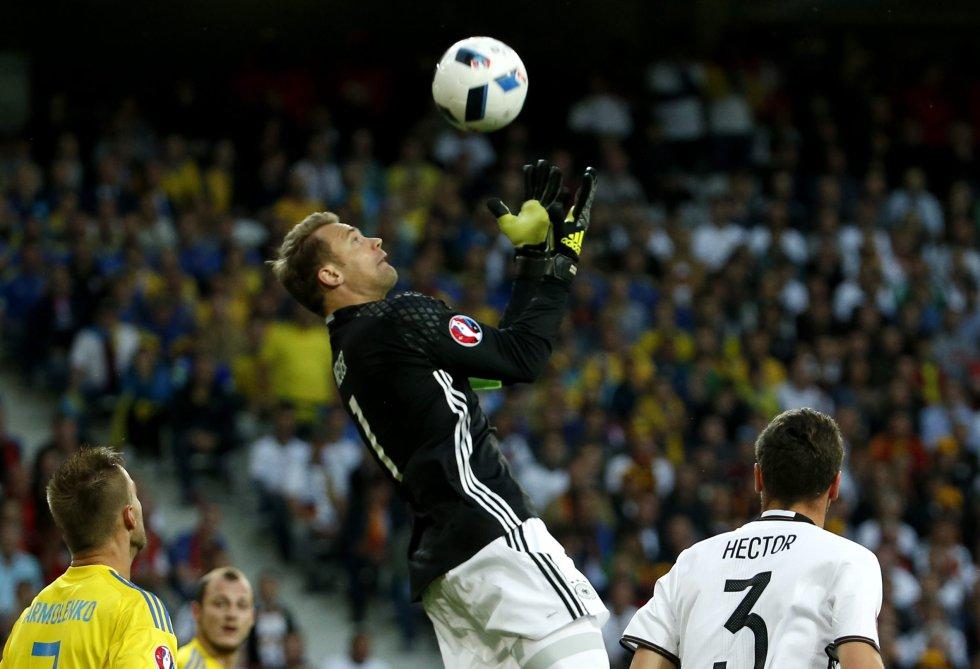 Nuer capitán de la Selección alemana.