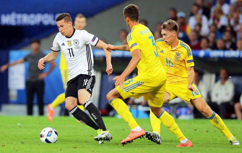 Draxler una de las promesas del fútbol aleman.