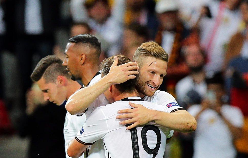 Alemania se va adelante en el marcador.
