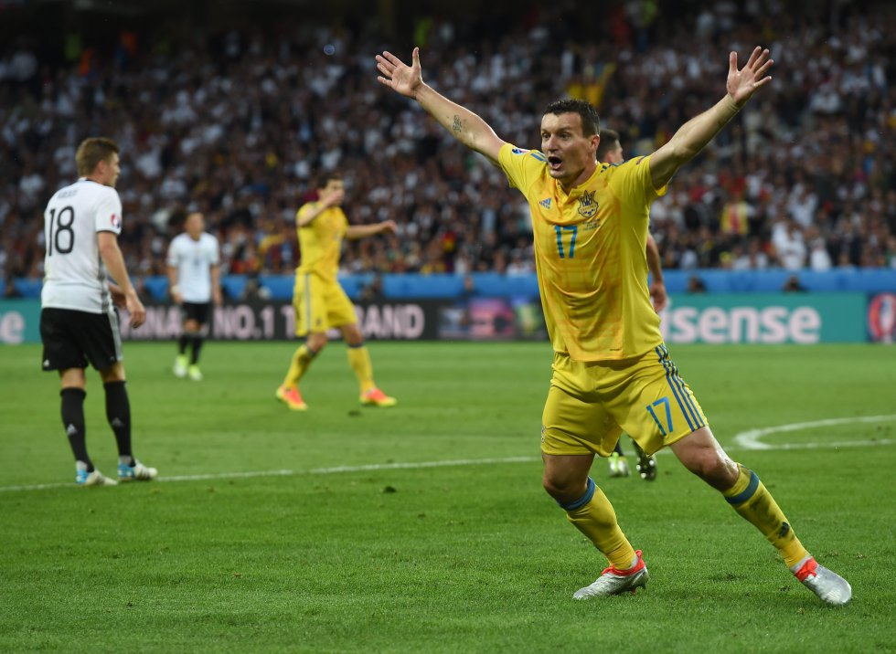 Toda Ucrania reclama que el balón ya había ingresado.