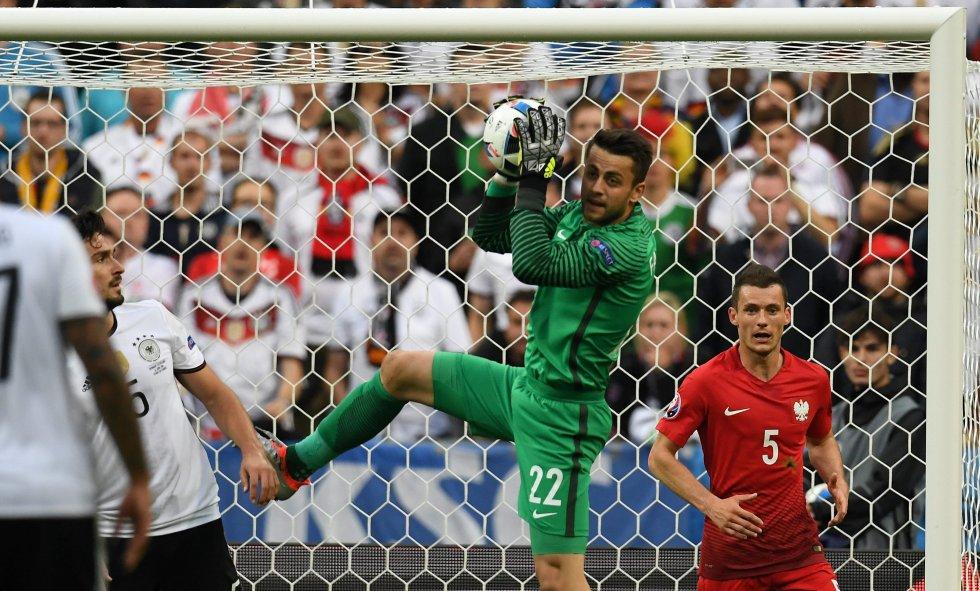 Alemania fue el equipo que mas tiros tuvo a puerta.