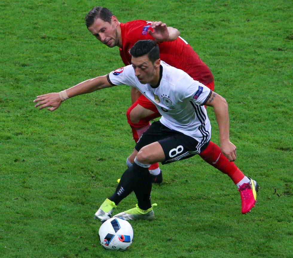 En imágenes: El empate entre alemanes y polacos