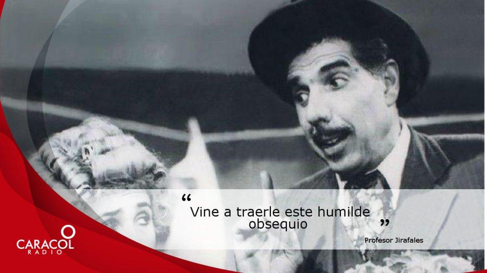 Caracol Radio recuerda algúnas de las frases de los emblemáticos personajes interpretados por Rubén Aguirre.