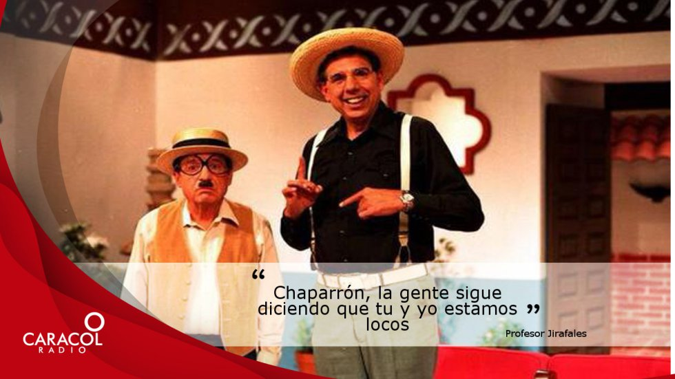"""LuCastañeda, el compañero de Chaparron Bonaparte en """"Los chiflados"""". Rubén Aguirre debe su apodo a que medpía 2.10 mts de estatura."""