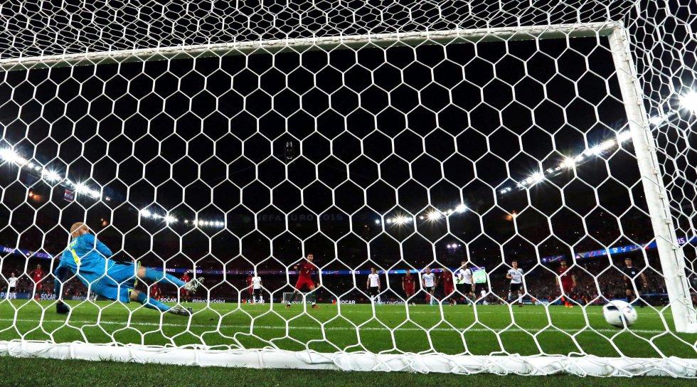 El penal que falló Cristiano Ronaldo