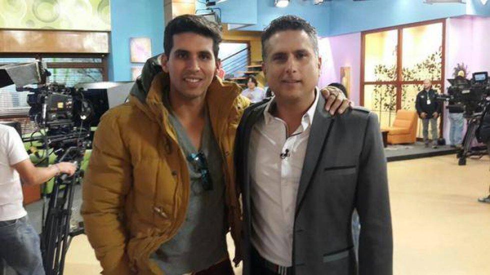 Marlon Moreno: Tiene una muy buena relación con su hijo Brayan.