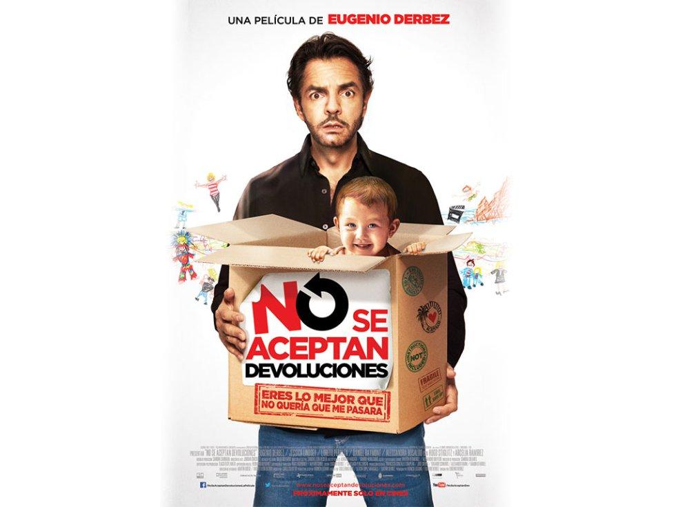 No se aceptan devoluciones es una película mexicana de comedia dramática, protagonizada por el actor Eugenio Derbez.