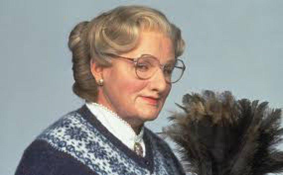 Mrs. Doubtfire (1993) es una película cómica, dirigida por Chris Columbus. Protagonizada por Robin Williams.