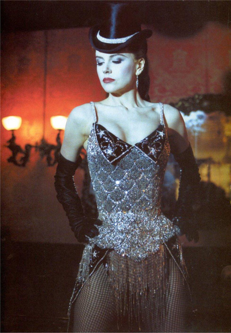 En 2001 rodó otra de sus películas más emblemáticas: 'Moulin Rouge', en la que da vida a una de las chicas del popular cabaret francés.